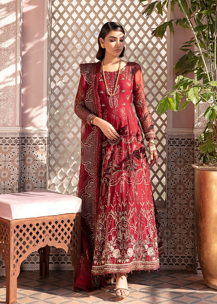 Afrozeh 2021 - Nauratan | KASHISH - Pink-Red : Buy Afrozeh Pakistani clothing brand at our Online store. Lebaasonline Has all the latest Women`s Clothing Collection of Salwar Kameez, Indian & Pakistani  Bridal and Wedding Party attire Collection. Shop Afrozeh 2021 - Nauratan ORIGINAL DESIGNER DRESSES IN THE UK ONLINE.