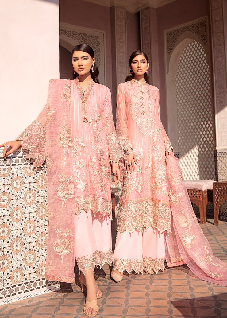 Afrozeh 2021 - Nauratan | NAINA  - Pink : Buy Afrozeh Pakistani clothing brand at our Online store. Lebaasonline Has all the latest Women`s Clothing Collection of Salwar Kameez, Indian & Pakistani  Bridal and Wedding Party attire Collection. Shop Afrozeh 2021 - Nauratan ORIGINAL DESIGNER DRESSES IN THE UK ONLINE.