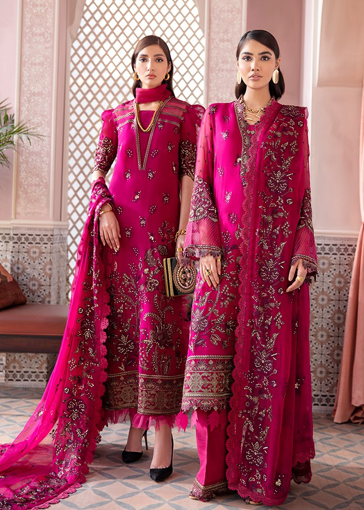 Afrozeh 2021 - Nauratan | ARZOO - Pink : Buy Afrozeh  Pakistani clothing brand at our Online store. Lebaasonline Has all the latest Women`s Clothing Collection of Salwar Kameez, Indian & Pakistani  Bridal and Wedding Party attire Collection. Shop Afrozeh 2021 - Nauratan ORIGINAL DESIGNER DRESSES IN THE UK ONLINE.