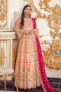 Shop now EMAAN ADEEL | BELLE ROBE - BR- 04 BERRY SORBET at www.LebaasOnline.co.uk  Net embroidered mirror work, New Indian & Pakistani Designer Partywear Suits in the UK and USA at LebaasOnline. Browse new EMAAN ADEEL | BELLE ROBE - BR-02 JUNGLE FRUIT Chiffon, Wedding Party, Nikah & Walima dresses SALE at LebaasOnline.