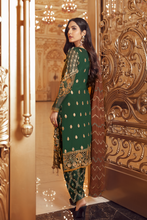 Load image into Gallery viewer, Shop now EMAAN ADEEL | BELLE ROBE - BR-07 PEACE OUT at www.LebaasOnline.co.uk  Net embroidered hand mirror work, New Indian & Pakistani Designer Partywear Suits in the UK and USA at LebaasOnline. Browse new EMAAN ADEEL | BELLE ROBE - BR-07 PEACE OUT Chiffon, Wedding Party, Nikah & Walima dresses SALE at LebaasOnline.