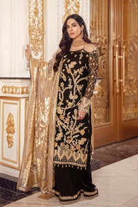 Shop now EMAAN ADEEL | BELLE ROBE - BR-09 SMOKIN' HOT at www.LebaasOnline.co.uk  Khaddi Net Embroidered had mirror work, New Indian & Pakistani Designer Partywear Suits in the UK and USA at LebaasOnline. Browse new EMAAN ADEEL | BELLE ROBE - BR-09 SMOKIN' HOT Wedding Party, Nikah & Walima dresses SALE at LebaasOnline.