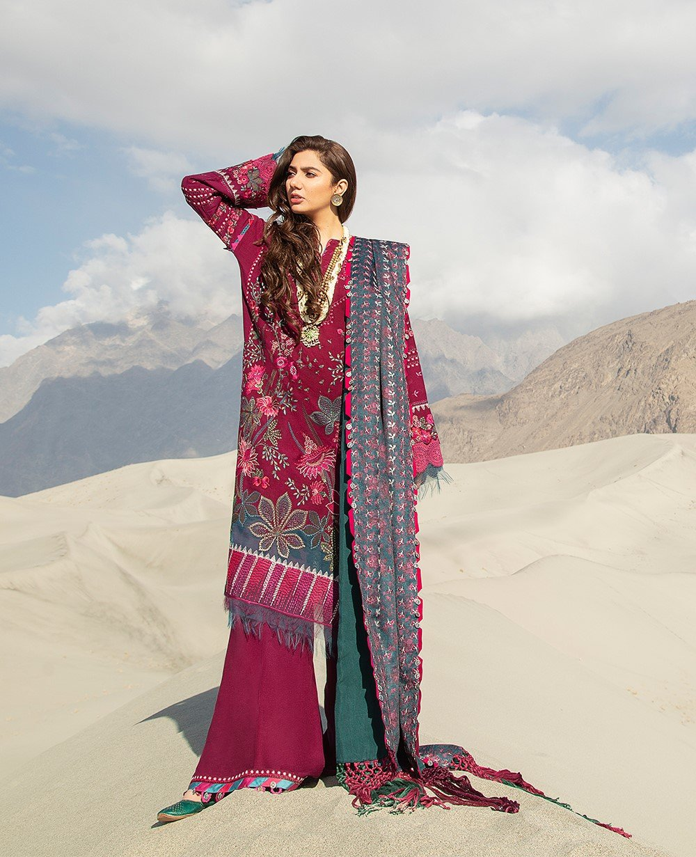 Shop NOW REPUBLIC WOMENSWEAR WINTER COLLECTION 2021- Shigar @ www.LebaasOnline.co.uk  Digital printed Shawl with embroidery, New Indian & Pakistani Designer Partywear Suits in the UK and USA at LebaasOnline. Browse new REPUBLIC WOMENSWEAR WINTER COLLECTION 2021 Wedding Party, Nikah & Walima dresses SALE @ LebaasOnline.