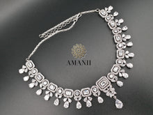 Load image into Gallery viewer, American Diamond Jewellery Set in white CZ - LebaasOnline