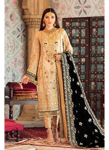 Gulaal Wedding Collection Cream - LebaasOnline