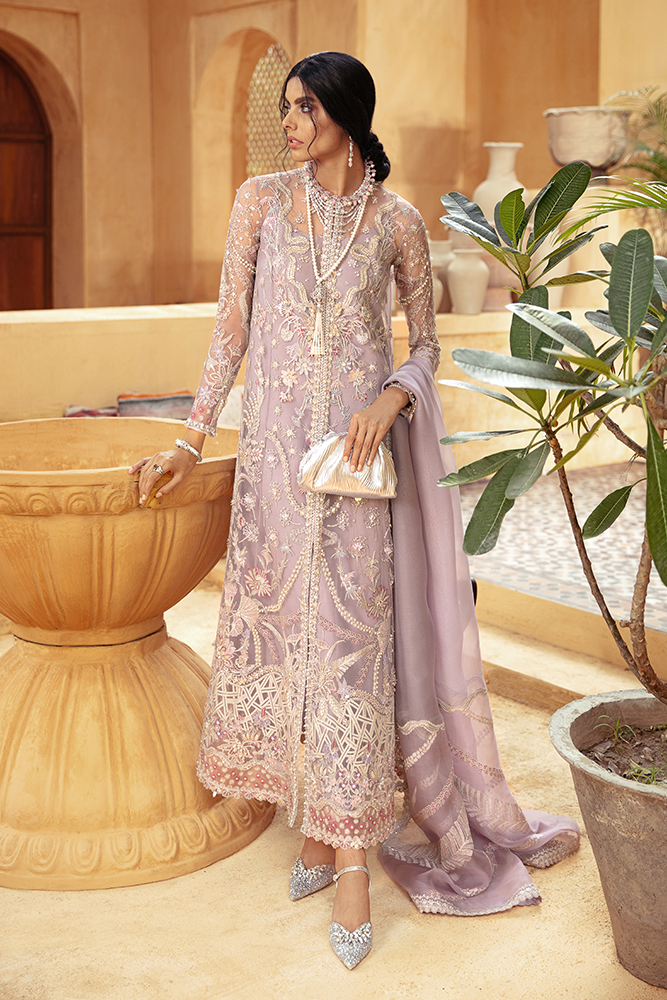 SUFFUSE Freesia Luxury Edition - ATHENA : Suffuse by Sana Yasir Luxury Pakistani fashion brand with signature floral patterns, intricate aesthetics and glittering embellishments. Shop Now Suffuse Casual Pret, Suffuse Luxury Collection & Bridal Dresses 2020/21 from www.lebaasonline.co.uk on discount price-SALE!