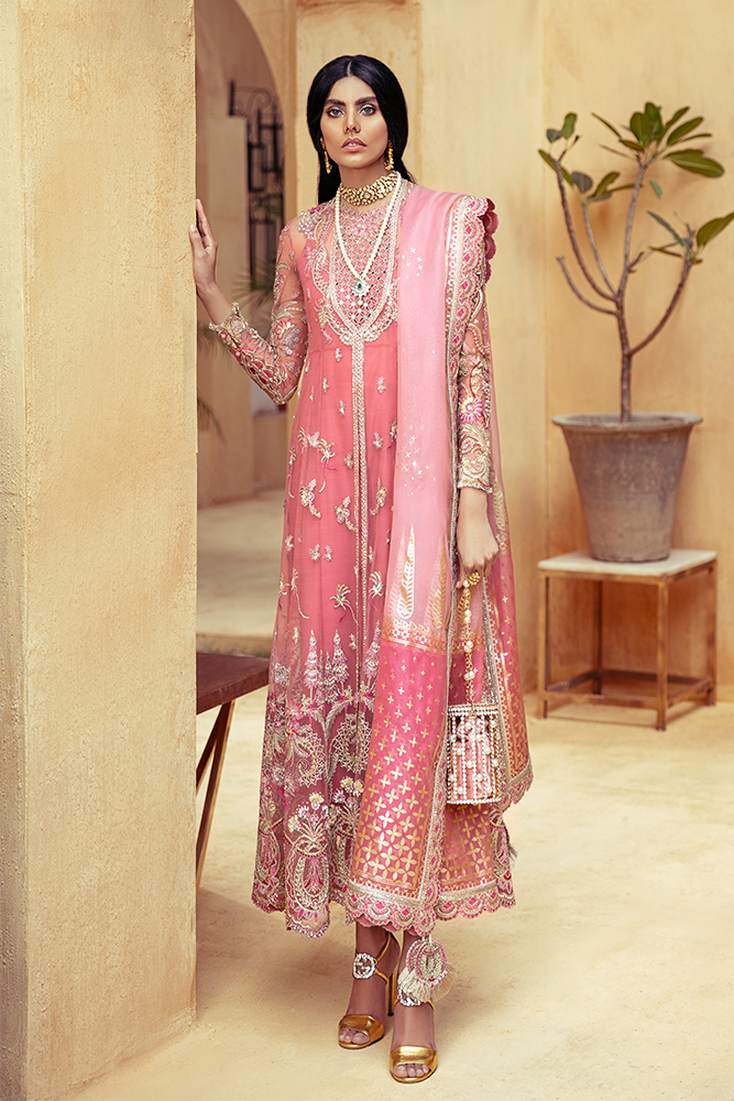 SUFFUSE Freesia Luxury Edition - CELESTE : Suffuse by Sana Yasir Luxury Pakistani fashion brand with signature floral patterns, intricate aesthetics and glittering embellishments. Shop Now Suffuse Casual Pret, Suffuse Luxury Collection & Bridal Dresses 2020/21 from www.lebaasonline.co.uk on discount price-SALE!