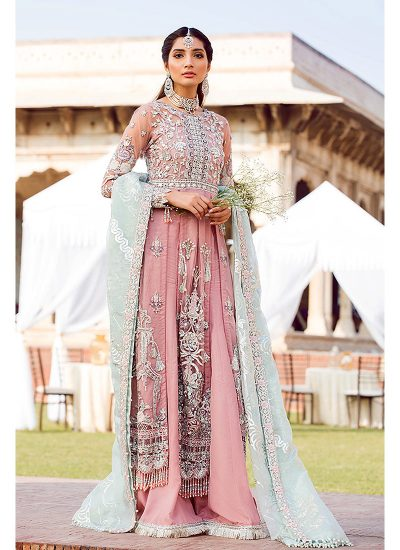 Gulaal Wedding Collection Pink - LebaasOnline