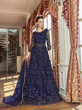 Load image into Gallery viewer, AYANN by Vipul 2020 Designer Anarkali Gowns - Blue