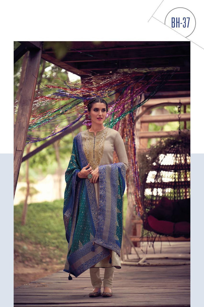 Bandhani Vol 3 Fancy Silk Designer Suit Collection 2020 - BH 37