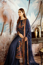 Load image into Gallery viewer, Iznik Designer Suit Wedding 2020- OIC-02 SAPPHIRE BLUE