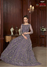 Load image into Gallery viewer, AYANN by Vipul 2020 Designer Anarkali Gowns - Purplish Blue