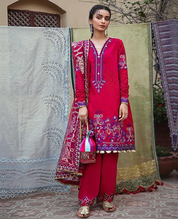 VAADA Eid Collection 2020 - PARISA - Mu 3 (A) online Pakistani designer dress Anarkali Suits Party Werar Indian Dresses Pakistani Dresses