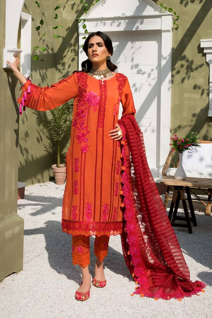 CHARIZMA | SIGNATURE KARANDI LAWN | Radiant Closet CLK-06 : Buy Luxury Summer Lawn Suits by CHARIZMA LAWN 2021 Collection on SALE Price at LEBAASONLINE - largest stockists of Best Pakistani Designer stitched summer dresses such as Latest Fashion MARIA. B. CRIMSON & SANA SAFINAZ LAWN Suits in the UK, London, NEW YORK & USA