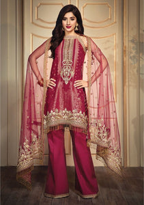 Anaya Luxury Lawn 2020 Suit Ruby Red