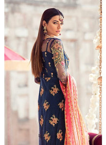 Gulaal Wedding Collection Blue - LebaasOnline
