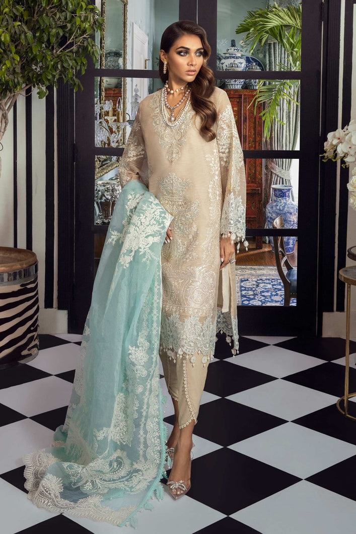 Buy SANA SAFINAZ | Muzlin Lawn 2021-02A CREAM from Lebaasonline Pakistani Clothes Stockist in the UK @ best price- SALE ! Shop Eid Dress 2021, Maria B Lawn 2021 Summer Suits, New Pakistani Clothes Online UK for Eid, Party & Bridal Wear. Indian & Pakistani Summer Lawn Dresses by SANA SAFINAZ in UK & USA at LebaasOnline