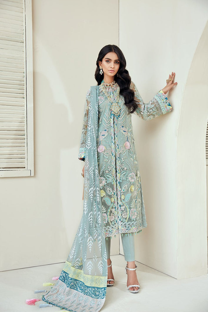 MARYAM HUSSAIN - MARWA LUXURY FORMALS COLLECTION 2020 - Iceberg