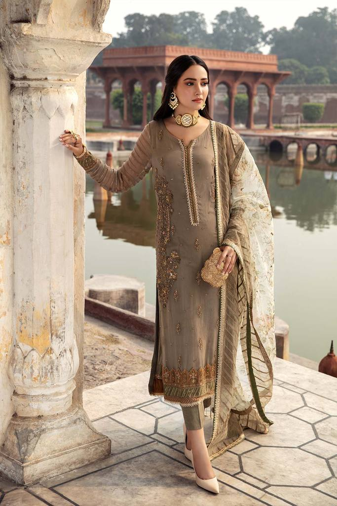CHARIZMA | DASTAN-E-JASHAN | Beige Zeb-un-Nisa DJ-07 : Buy CHARIZMA Pakistani clothing brand at our Online store. Lebaasonline Has all the latest Women`s Clothing Collection of Salwar Kameez, Indian & Pakistani  Bridal and Wedding Party attire Collection. Shop CHARIZMA ORIGINAL DESIGNER DRESSES IN THE UK ONLINE.
