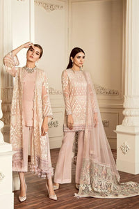 DOVE - Baroque Chantelle Chiffon Pakistani Suit