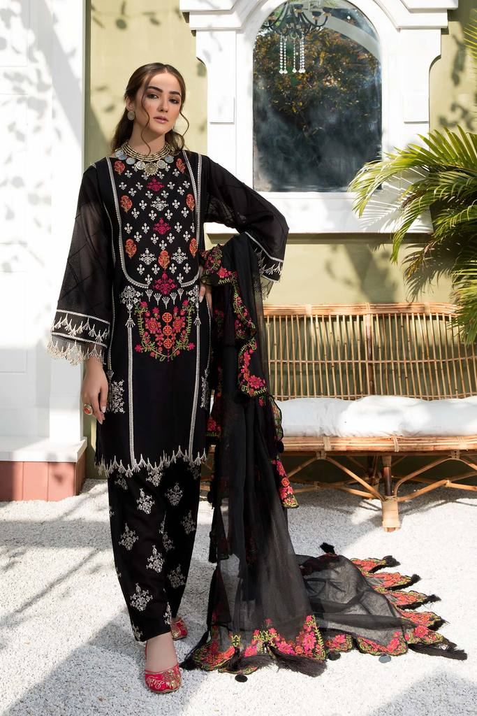 CHARIZMA | SIGNATURE KARANDI LAWN | Dusky Garland CLK-01 : Buy Luxury Summer Lawn Suits by CHARIZMA LAWN 2021 Collection on SALE Price at LEBAASONLINE - largest stockists of Best Pakistani Designer stitched summer dresses such as Latest Fashion MARIA. B. CRIMSON & SANA SAFINAZ LAWN Suits in the UK, London, NEW YORK & USA