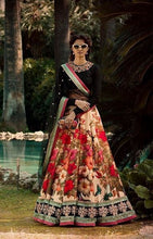 Load image into Gallery viewer, Sabyasachi Inspired Rose Print Lehnga