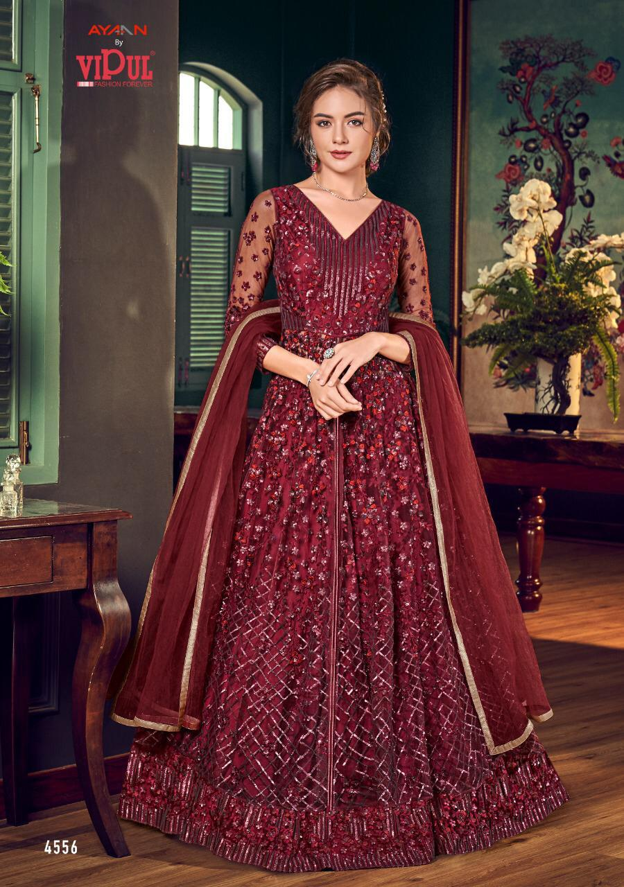 Vipul Julia Indian Gown 2020 - DNo:4556