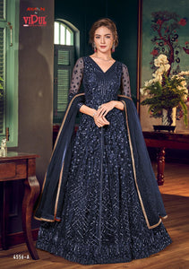 Vipul Julia Indian Gown 2020 - DNo:4556-A