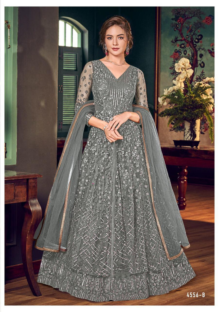 Vipul Julia Indian Gown 2020 - DNo:4556-B