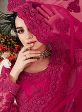 Load image into Gallery viewer, Pink Heavy Embroidered Lehenga by Alizeh