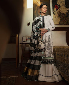 VAADA Eid Collection 2020 - INARA - Mu 2 (B) online Pakistani designer dress Anarkali Suits Party Werar Indian Dresses Pakistani Dresses