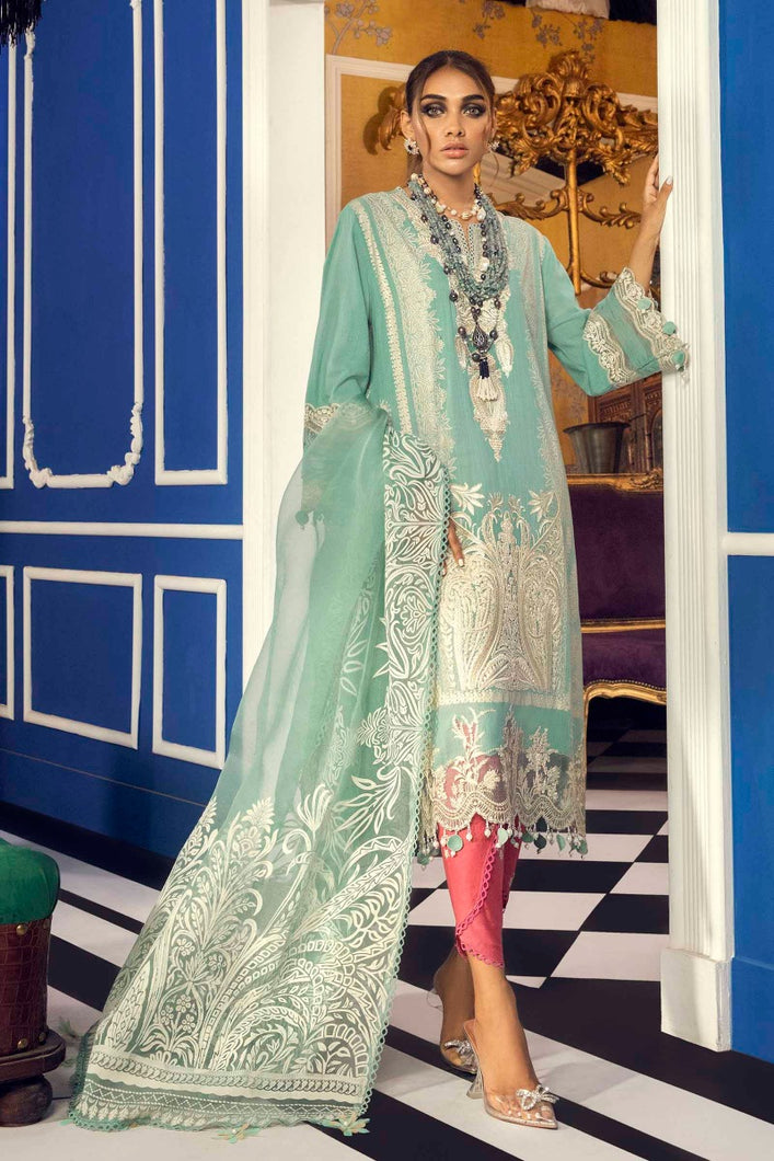 Buy SANA SAFINAZ | Muzlin Lawn 2021-04B GREEN from Lebaasonline Pakistani Clothes Stockist in the UK @ best price- SALE ! Shop Eid Dress 2021, Maria B Lawn 2021 Summer Suits, New Pakistani Clothes Online UK for Eid, Party & Bridal Wear. Indian & Pakistani Summer Lawn Dresses by SANA SAFINAZ in UK & USA at LebaasOnline