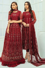 Load image into Gallery viewer, Xenia Janaan Luxury Chiffon Collection 2020 - 05 Gul online Pakistani designer dress Anarkali Suits Party Werar Indian Dresses Pakistani Dresses Eid dresses online shoppingReady made Pakistani clothes UK Eid dresses UK online Eid dresses online shopping readymade eid suits uk eid suits 2019 uk pakistani eid suits uk eid suits 2020 uk Eid dresses 2020 UK