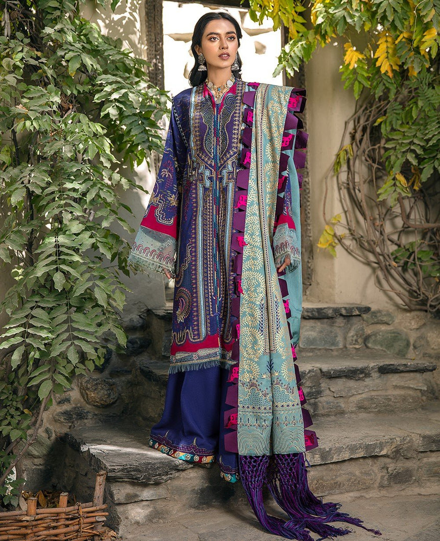 Shop NOW REPUBLIC WOMENSWEAR WINTER COLLECTION 2021- Shigar at www.LebaasOnline.co.uk. Digital printed Shawl with embroidery, New Indian & Pakistani Designer Party wear Indian & Pakistani Suits in the UK & USA at LebaasOnline. Browse new REPUBLIC WOMENSWEAR WINTER COLLECTION 2020/21 Wedding Party & Casual dresses-SALE