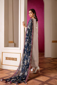 GLAZE - Baroque Chantelle Chiffon Pakistani Suit