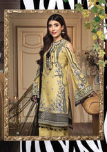Load image into Gallery viewer, Anaya Luxury Lawn 2020 Suit jet-black and daisy yellow