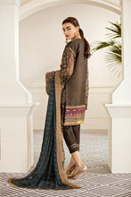 Load image into Gallery viewer, PECAN - Baroque Chantelle Chiffon Pakistani Suit