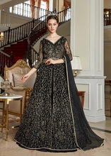 Load image into Gallery viewer, AYANN by Vipul 2020 Designer Anarkali Gowns - Black