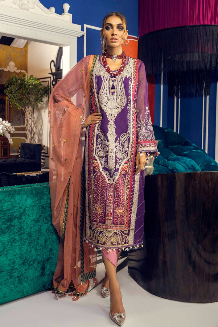 Buy SANA SAFINAZ | Muzlin Lawn 2021-05A PURPLE from Lebaasonline Pakistani Clothes Stockist in the UK @ best price- SALE ! Shop Eid Dress 2021, Maria B Lawn 2021 Summer Suits, New Pakistani Clothes Online UK for Eid, Party & Bridal Wear. Indian & Pakistani Summer Lawn Dresses by SANA SAFINAZ in UK & USA at LebaasOnline