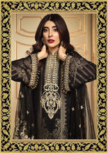 Load image into Gallery viewer, Anaya Luxury Lawn 2020 Suit Midnight black