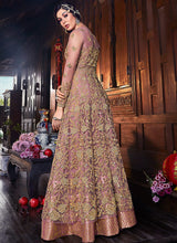 Load image into Gallery viewer, Pink Embroidered Jacket Style Anarkali