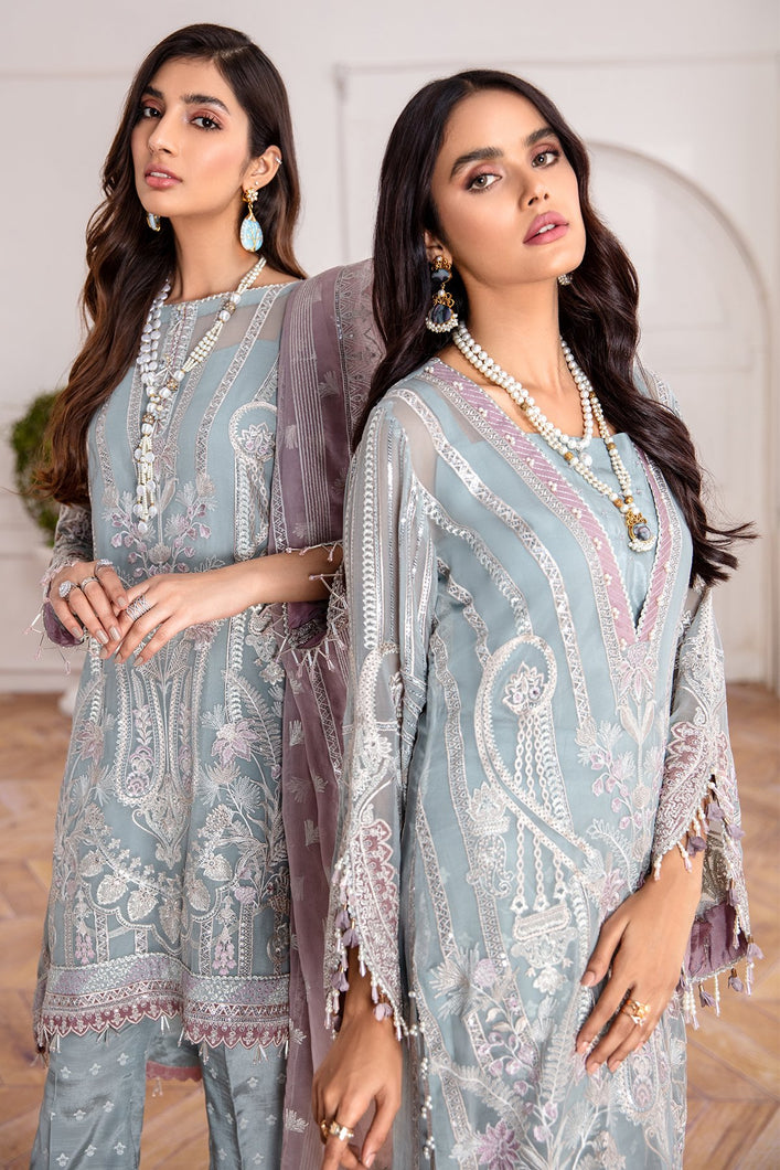 Buy Jazmin-Liana Pakistani Clothes For Women at Our Online Pakistani Designer Boutique UK, Indian & Pakistani Clothing and ready-made Asian Clothes UK Jazmin Suits, Baroque Embroidered Chiffon Collection 2020 & Indian Party Wear Outfits in USA on discount price exclusively available at our Online store Lebaasonline !