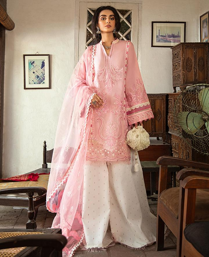 VAADA Eid Collection 2020 - PARISA - Mu 4 (B) online Pakistani designer dress Anarkali Suits Party Werar Indian Dresses Pakistani Dresses