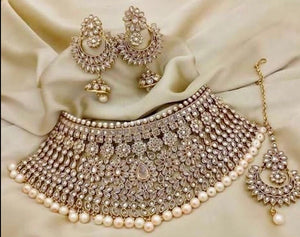 AMANII Special- Indian Bridal Jewellery Set - LebaasOnline available for next day delivery UK and USA