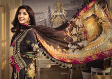 Load image into Gallery viewer, Anaya Luxury Lawn 2020 Suit black embroidered and tropical