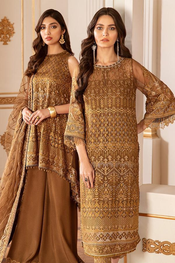 SUN DUST - Baroque Chantelle Chiffon Pakistani Suit