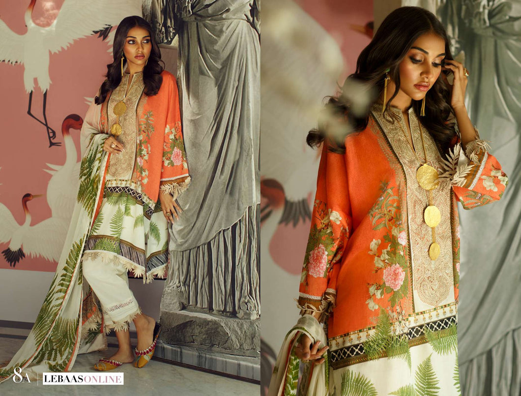 SANA SAFINAZ Spring / Summer 2020 MAHAY 8A Lawn Suit online Pakistani designer dress Anarkali Suits Party Werar Indian Dresses Pakistani Dresses