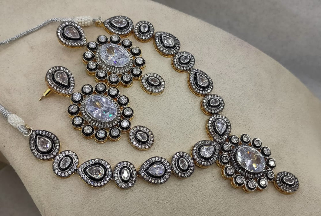 LebaasOnline American Diamond Jewellery – Buy American Bridal Jewelry Sets Online Silver and Mint American diamond cut studs, statement earrings. Indian contemporary diamond jewellery Shop american diamonds jewelry sets online from Lebaasonline , we can also get indian earrings, rings, nose rings and bangles with American diamonds .