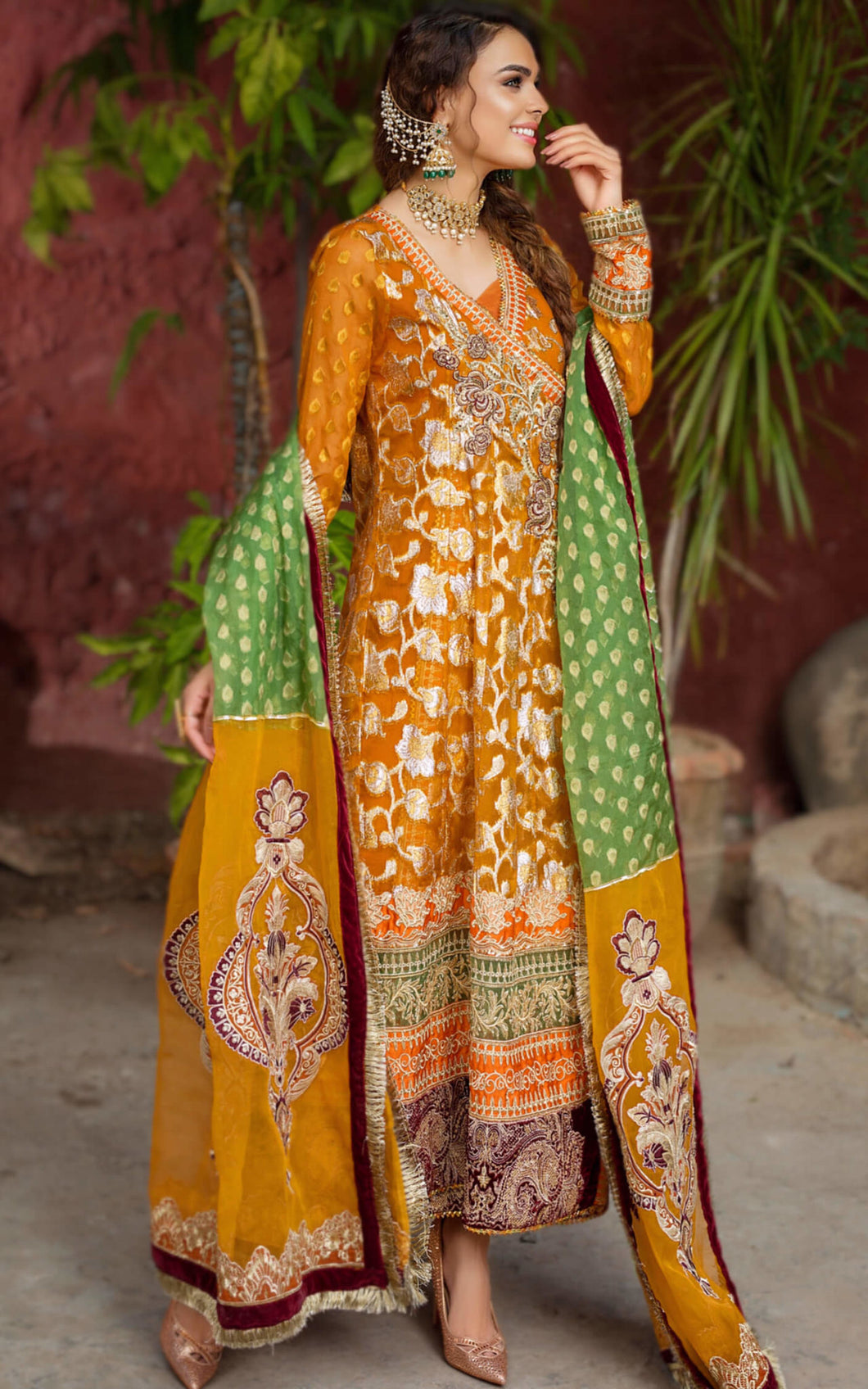 Buy ASIFA AND NABEEL | BANO ZN-05 -Pakistani Wedding Dress For Women at Our Online Pakistani Designer Boutique UK, Indian & Pakistani Dresses and ready-made Asian Clothes UK. ASIFA & NABEEL-BANO ZN-05 -Pakistani Wedding Dress Embroidered Chiffon Collection 2020 & Indian Party Wear Outfits USA on SALE at Lebaasonline