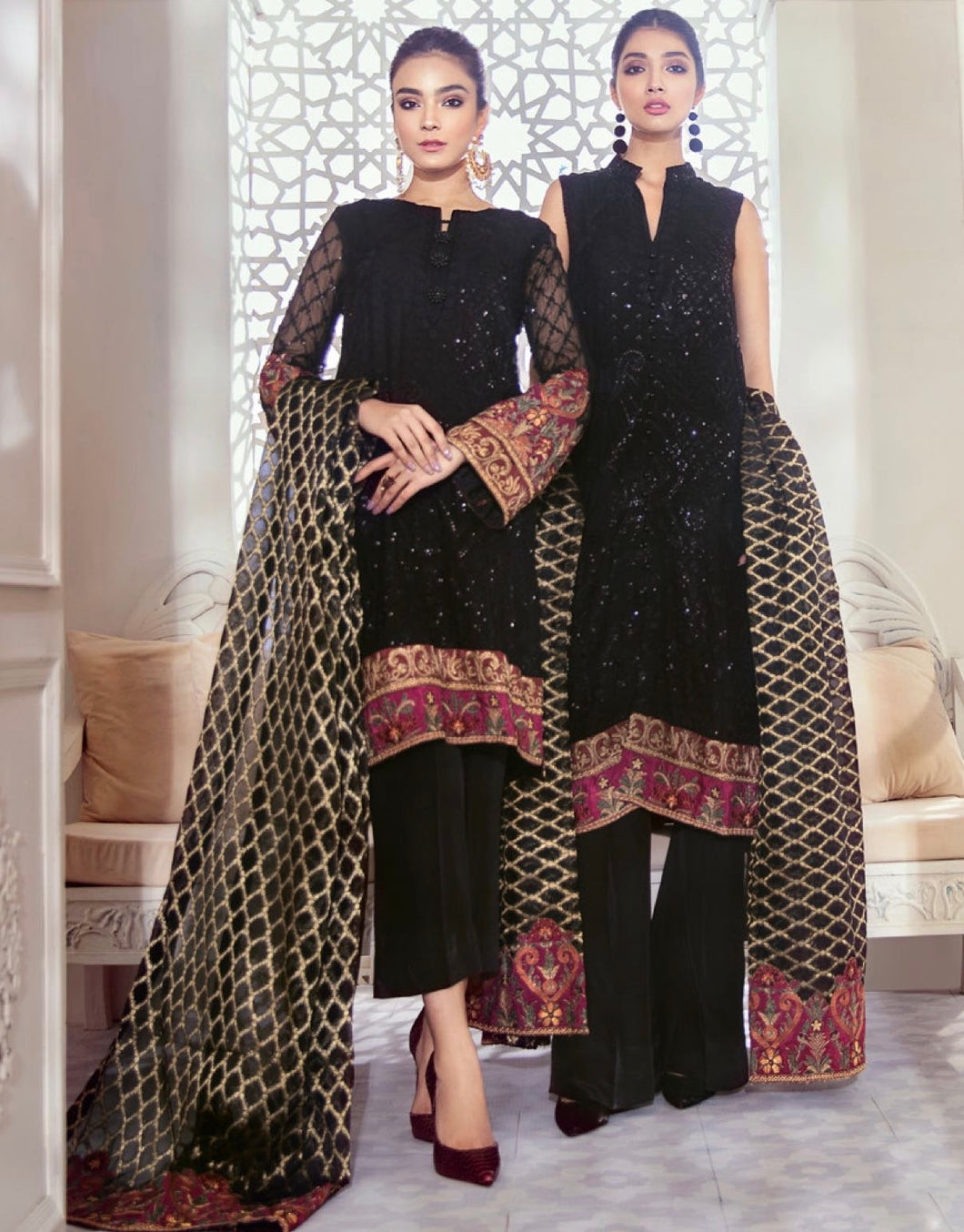 Iznik Designer Suit Wedding 2020- ID-01 BLOOMING RAVEN
